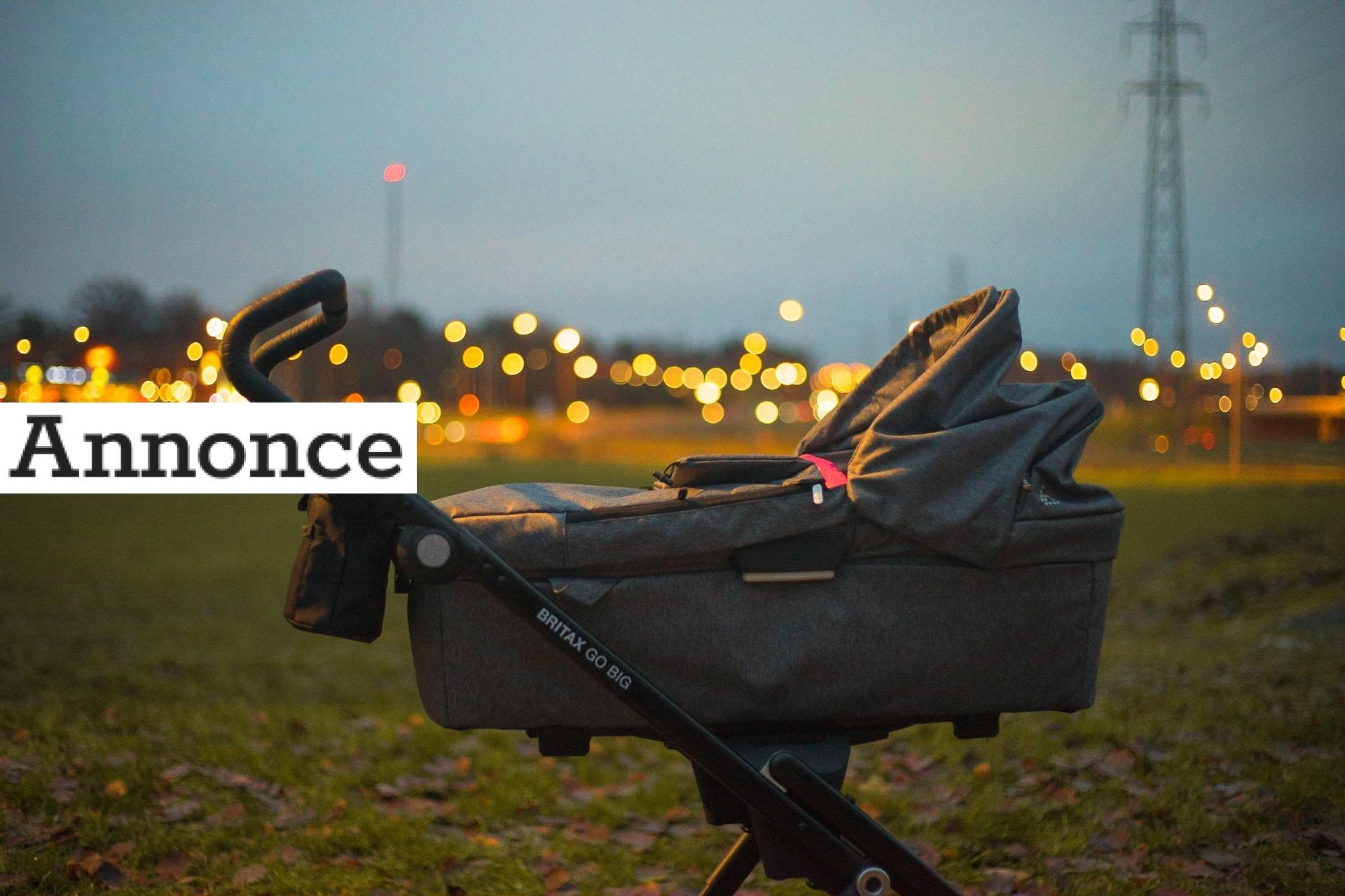 Vælg den rigtige barnevogn til ferien
